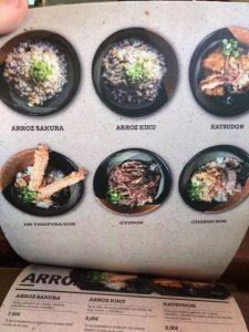 menu ramen shifu restaurante en madrid