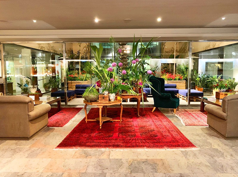 les terrasses gran hotel la florida barcelona restaurante