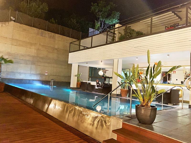 les terrasses gran hotel la florida restaurante barcelona