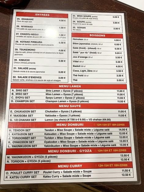 menu higuma parís