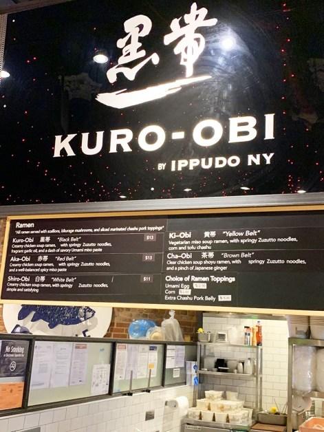 menu kuro-obi ippudo new york