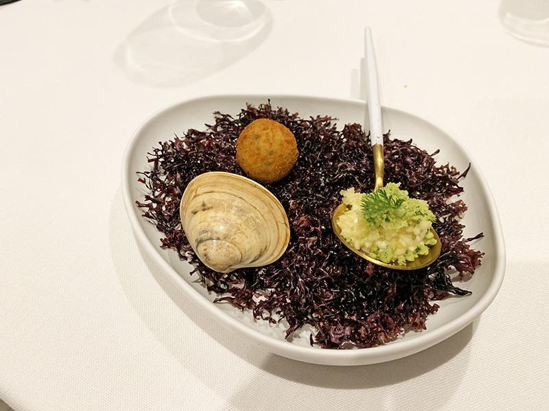 arriaga restaurante menu degustación