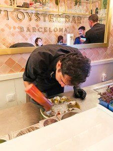 71 oyster bar barcelona