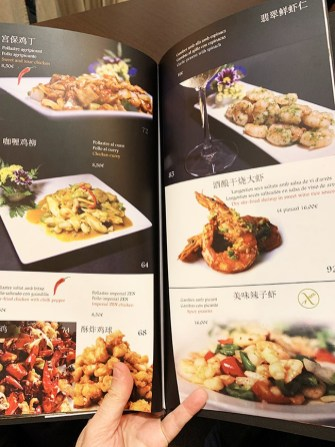 menu shanghái stories barcelona