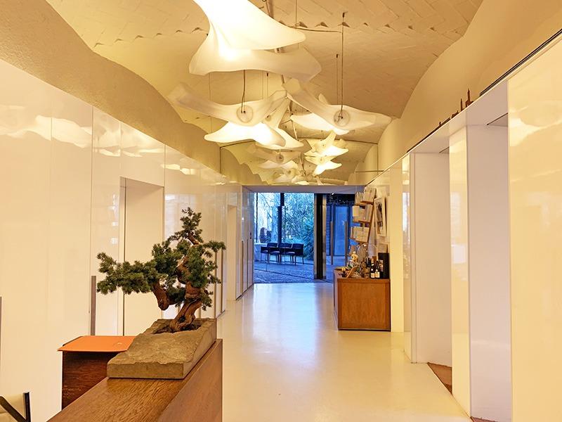 Interior de el Celler de Can Roca 2020