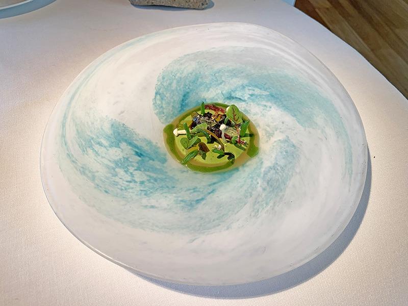 el celler de can roca menu platos 2020 Mar y montaña vegetal.