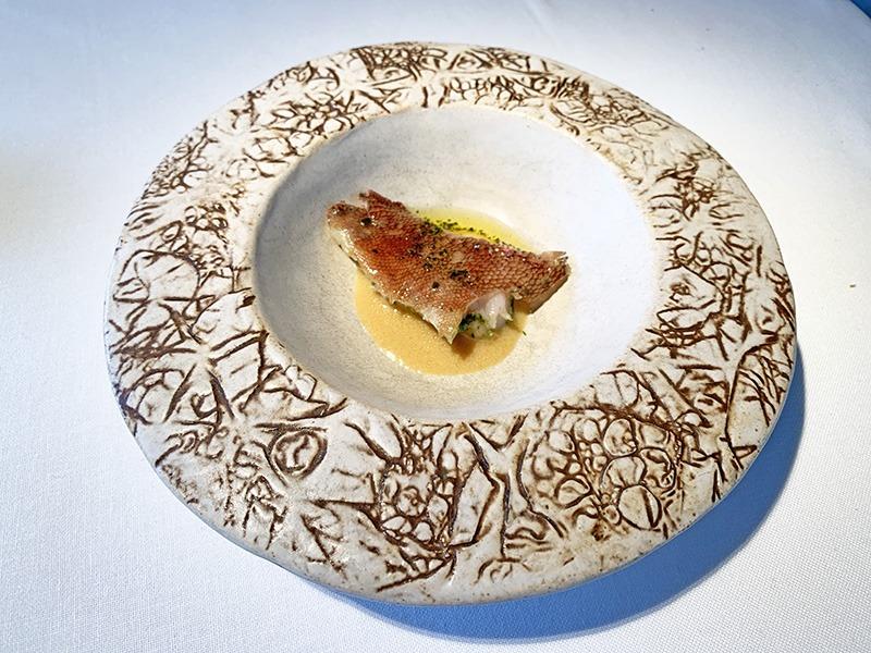 menu degustación 2020 el celler de can roca pescado del día cabracho