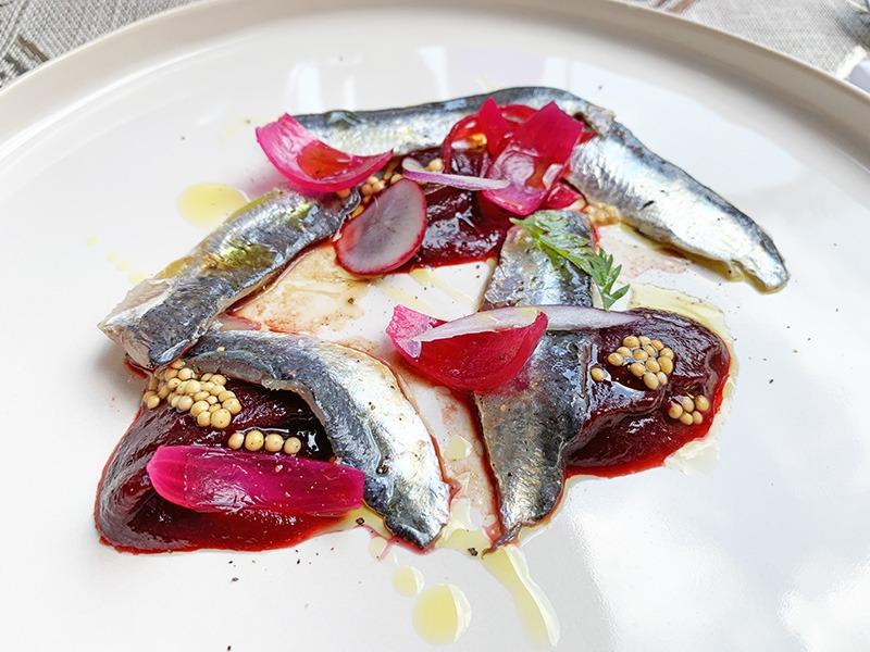 chef a domicilio Sardinas encurtidas al estilo japonés
