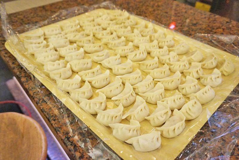 Dumplings caseros Dim Sum