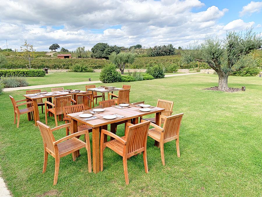 catalunya experience restaurante jardín el celleret