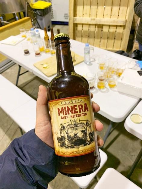 cervezas la minera