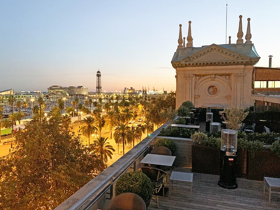 Hotel Duquesa de Cardona terraza superior