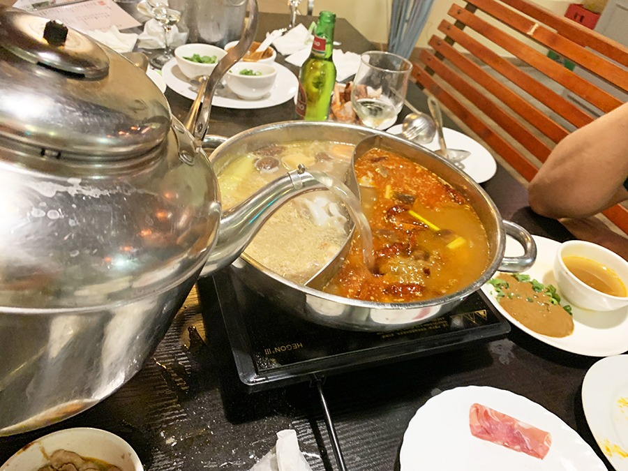 restaurante chongqing huo guo