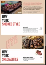 menu new york burger barcelona