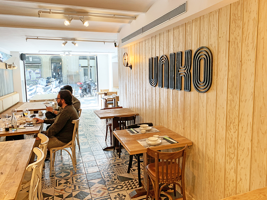 Restaurante Uniko Barcelona