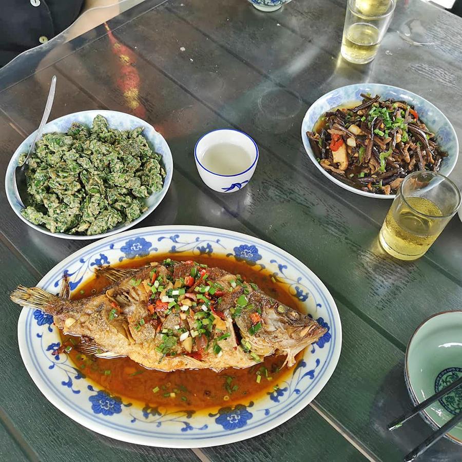 Platos Cocina Anhui