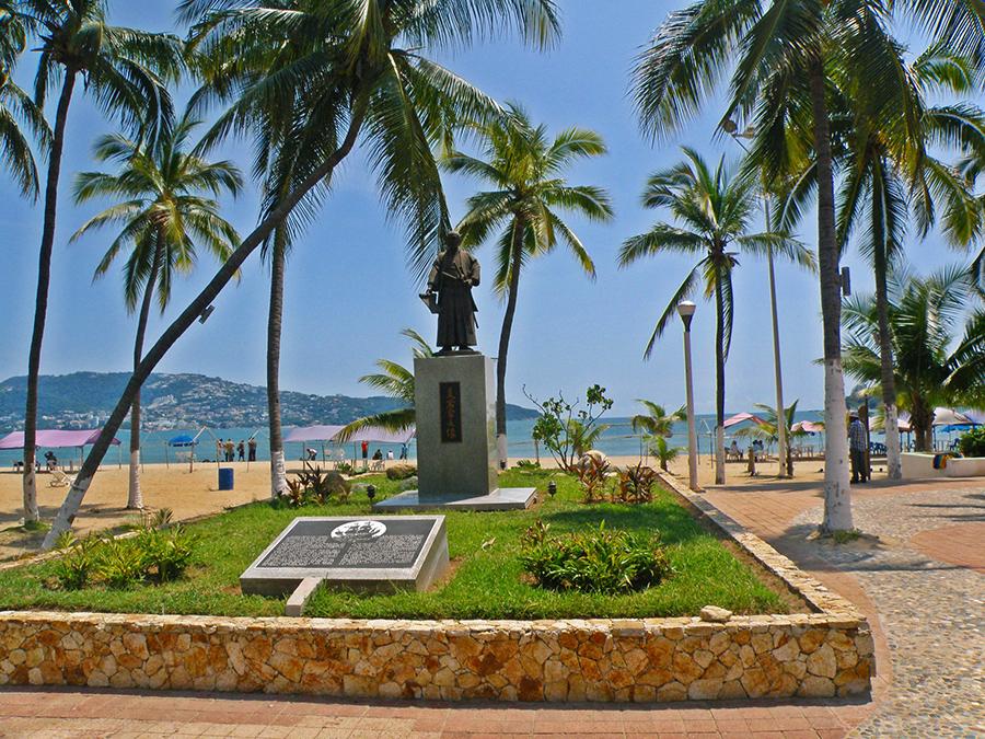 Estatua Hasekura Acapulco