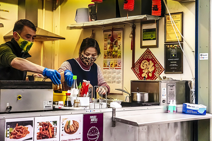 Frases útiles en chino para comer en restaurantes