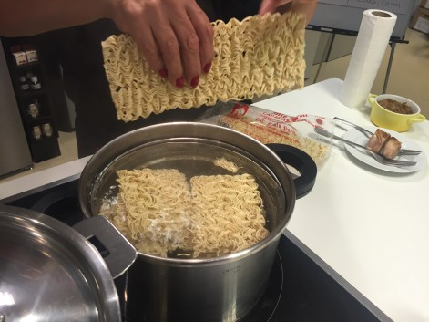 como hacer ramen pasta fideos
