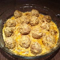 Kofta Korma (Bengali meatball curry)