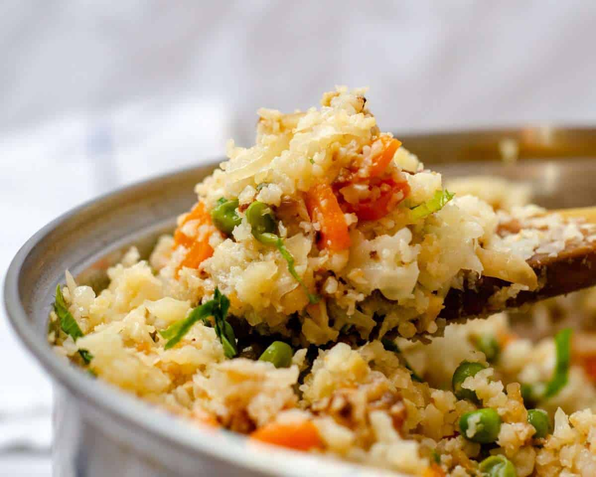 Low Carb Cauliflower Pulao