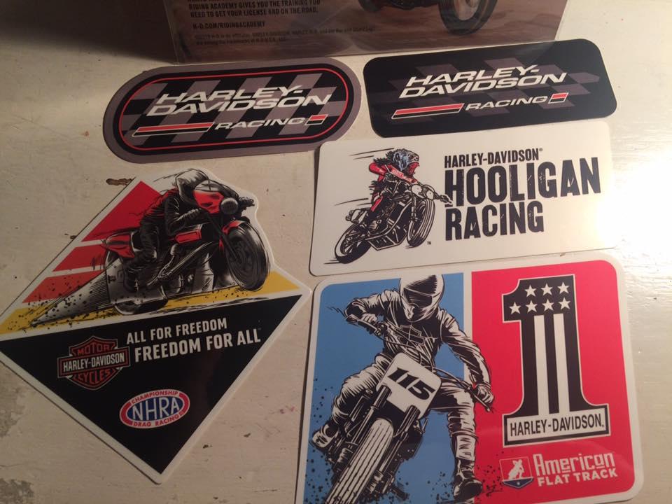 Harley-Davidson-Sticker