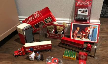 Free Coca-Cola Christmas Truck Toy