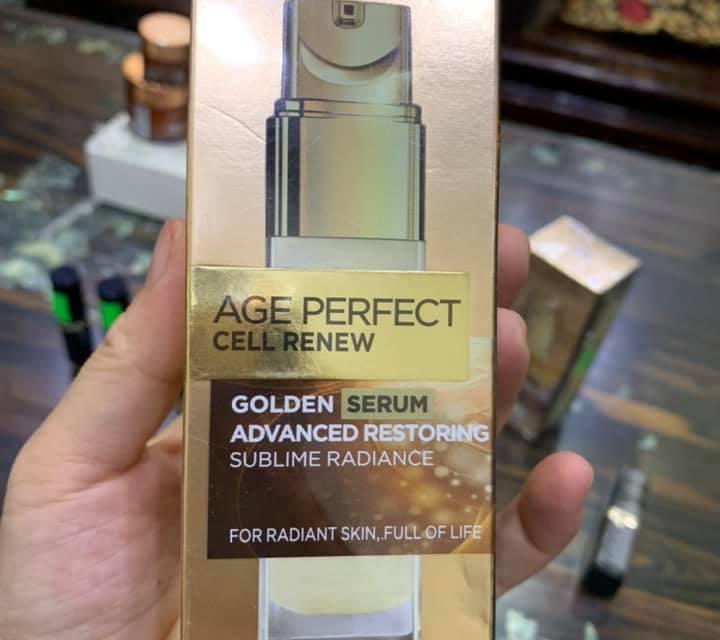 FREE L'Oreal Paris Age Perfect Radiant Serum