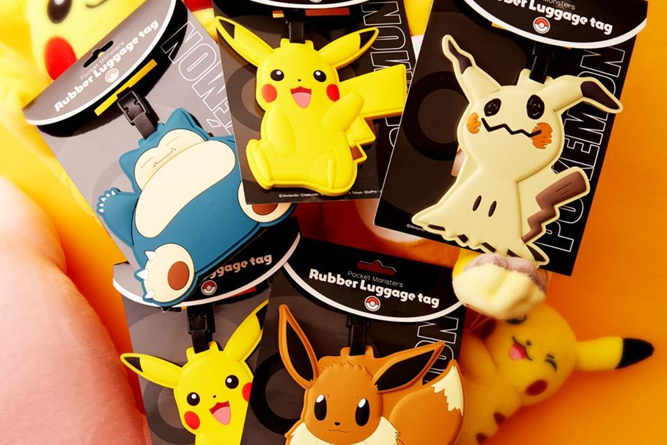 TokyoTreat Pokemon Luggage Tags Giveaway