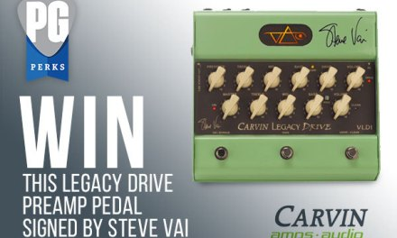 Carvin Amps and Audio VLD1 Legacy Drive Giveaway