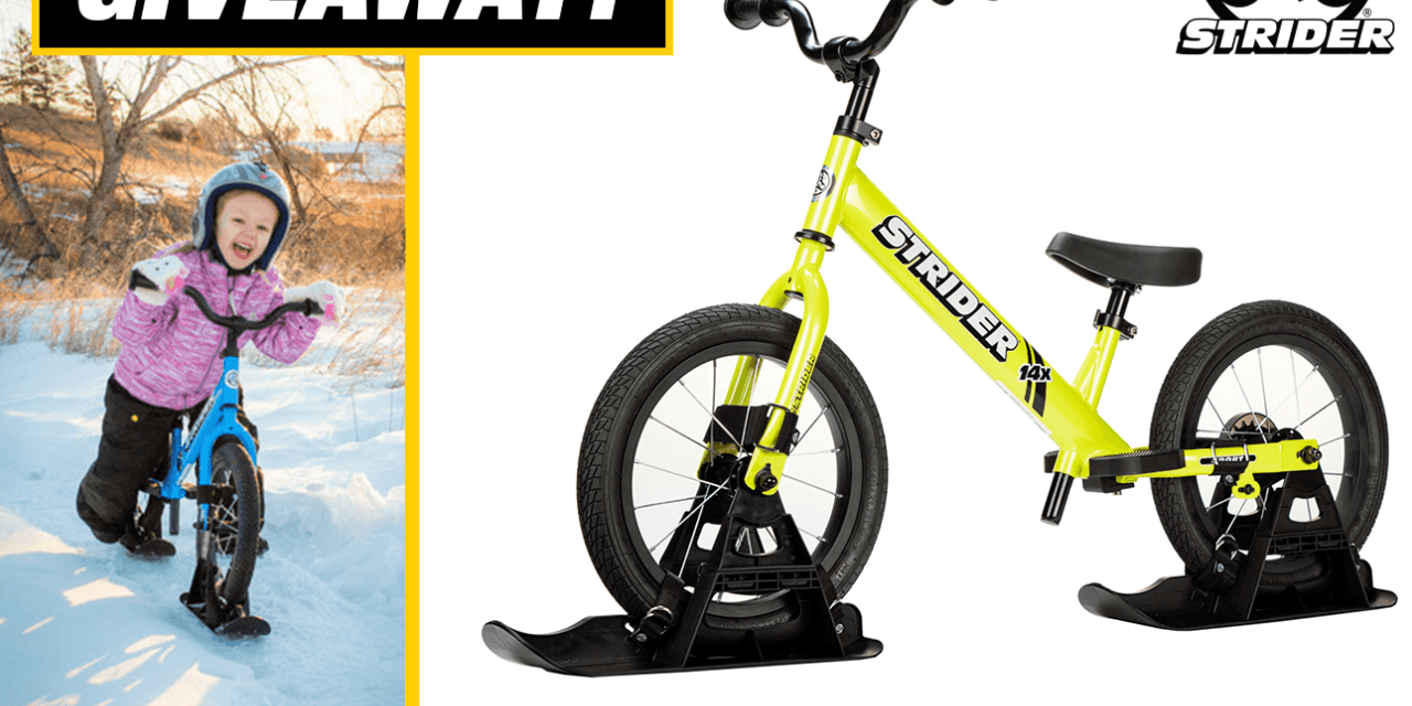 The Strider Bikes Giveaway