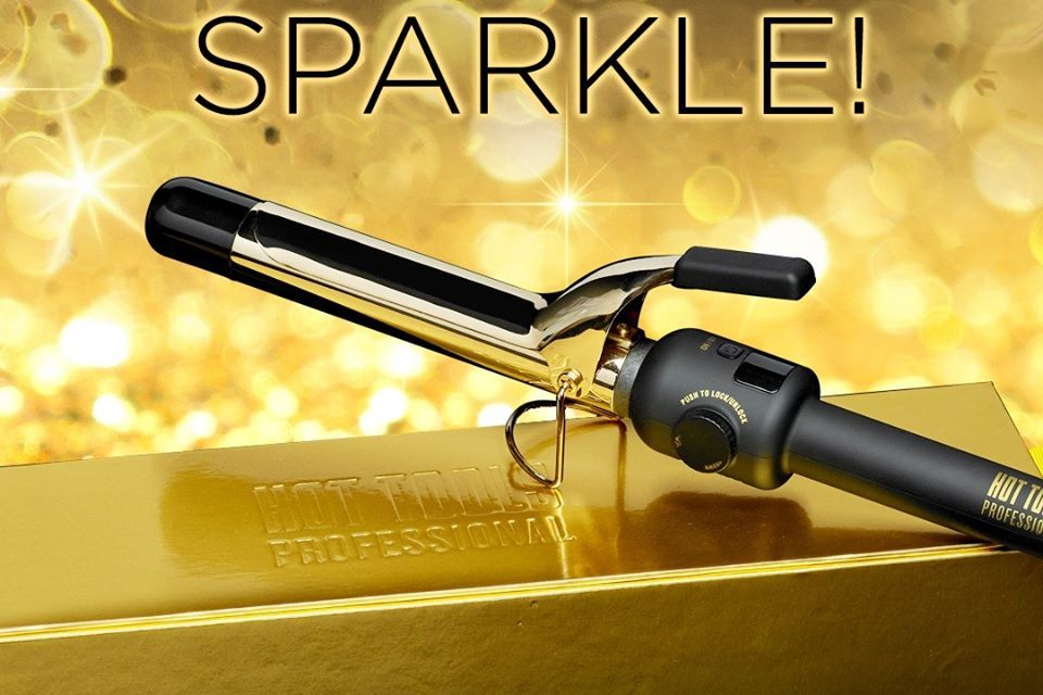 Hot Tools 24K Gold Curling Iron Giveaway