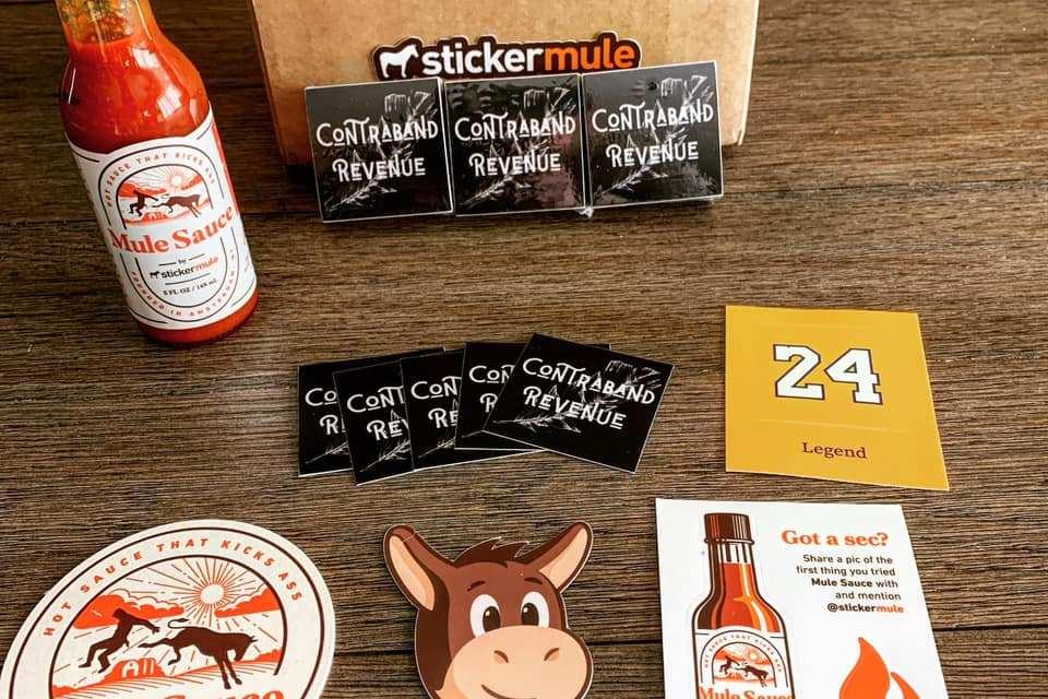 Sticker Mule Mule Sauce Giveaway
