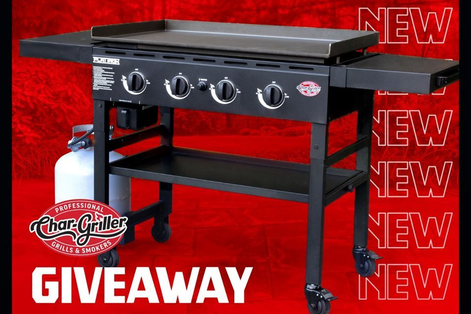 Portable Flat Iron Gas Griddle Giveaway