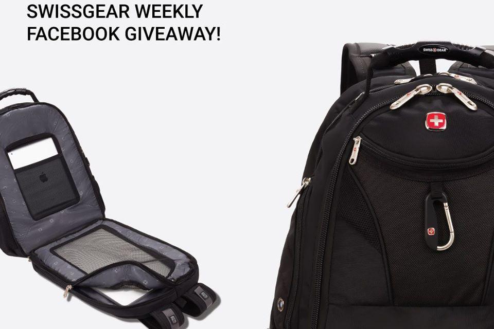 Weekly Swiss Gear Luggage Giveaway