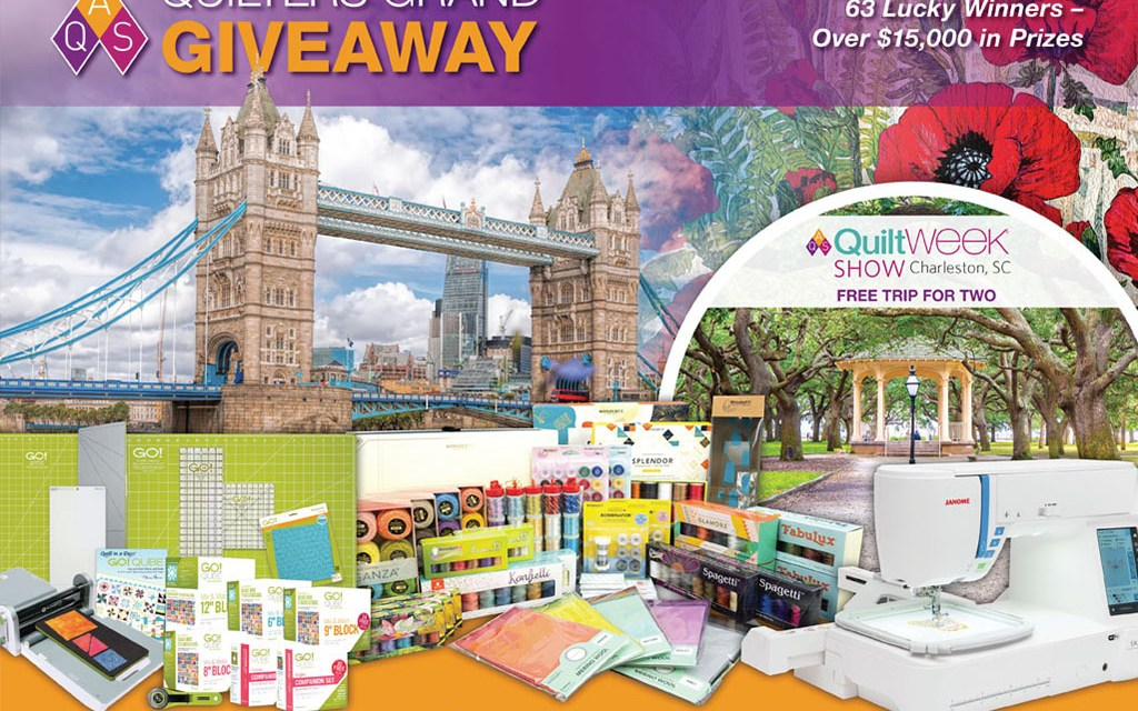 AQS 2020 Quilters Grand Giveaway