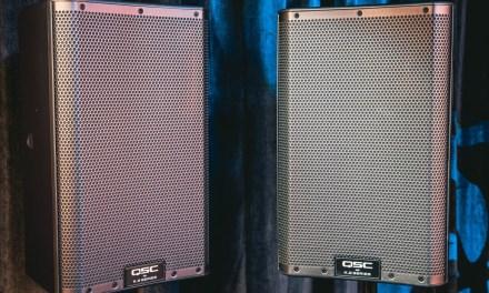 QSC K8.2 Loudspeaker Giveaway