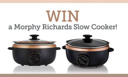 Win a Morphy Richards Sear and Stew slow Cooker