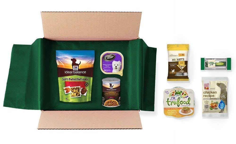 Free Dog Food Box
