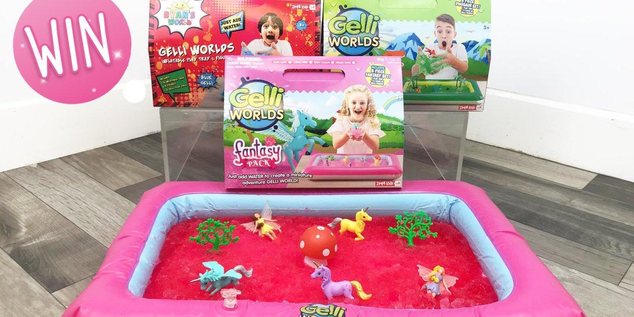 Gelli Worlds Giveaway
