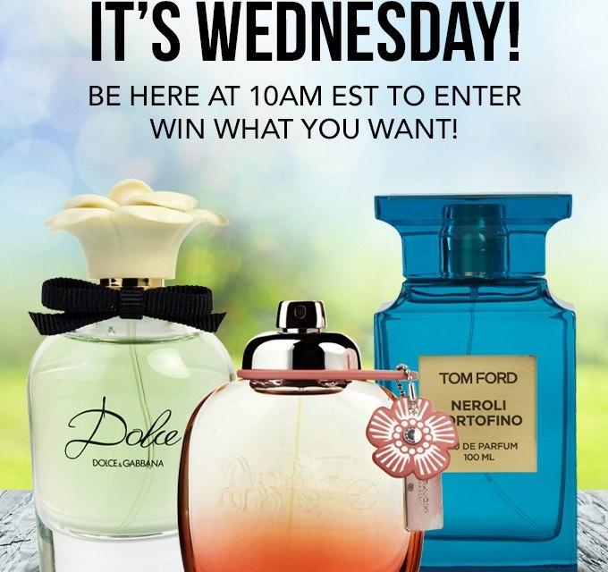 Fragrance Wednesday Giveaway