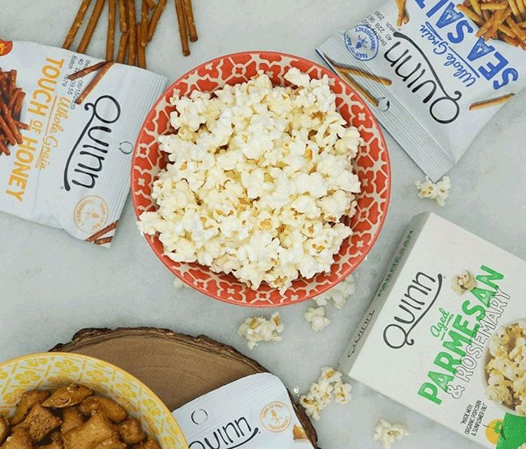 Quinn Snacks National Snack Day Giveaway