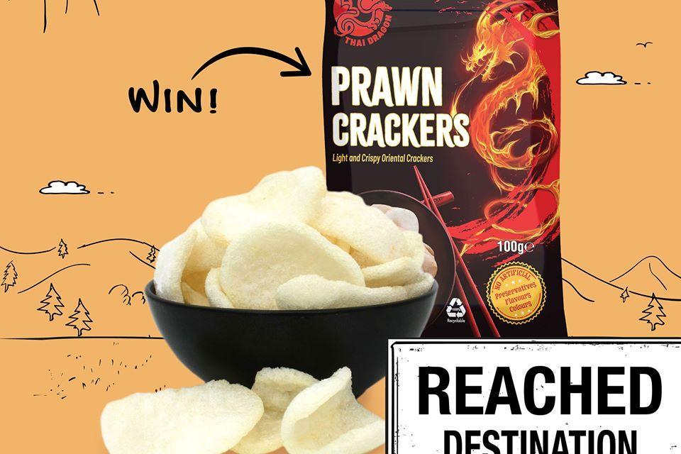 Free Thai Dragon Prawn Crackers