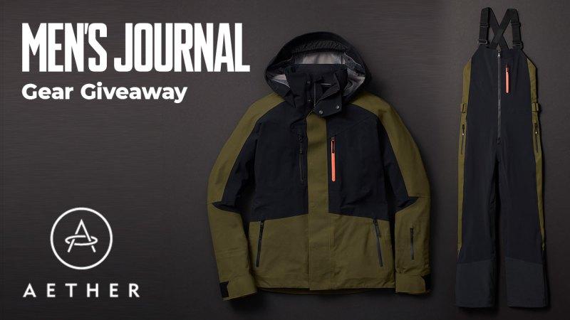 Men's Journal Gear Giveaway