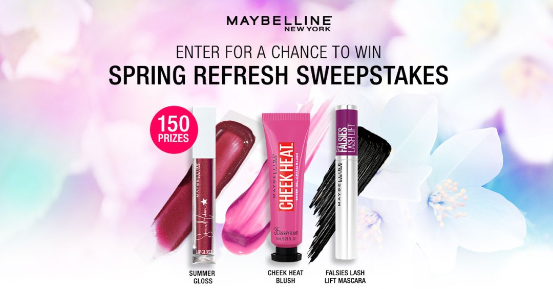 free-maybelline-spring-refresh-products