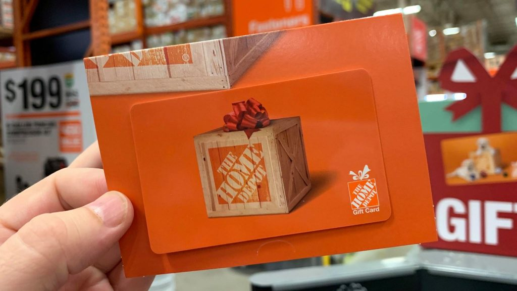 Spring Into Home Depot Giveaway