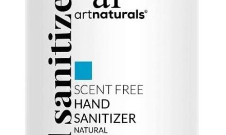 Free Artnaturals Unscented Hand Sanitizer Gel