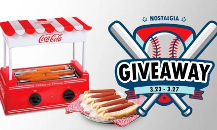 Nostalgia Hot Dog Roller Giveaway