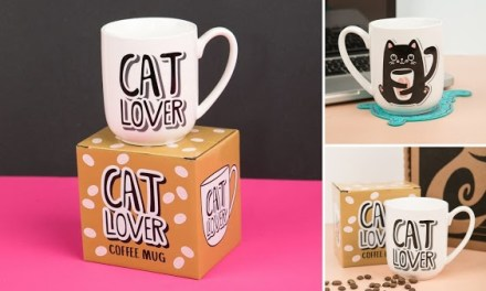 Cat Lover Coffee Mug Giveaway