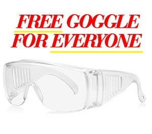 Free Protective Glasses